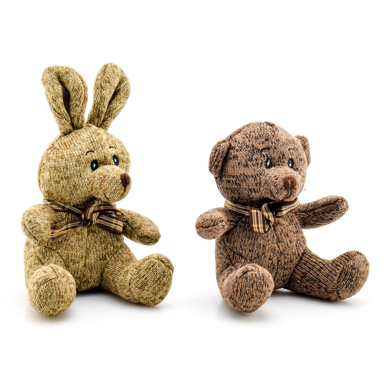 картинка игрушек заяц и мишка нас можете заказать